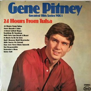 Gene Pitney ‎- 24 Hours From Tulsa (LP) (VG/VG-)